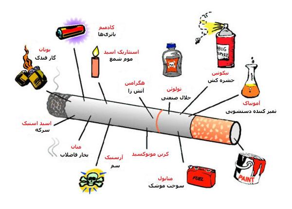 دانلود تحقیق تاثیر سیگار بر بدن انسان